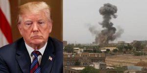 Trump bombs